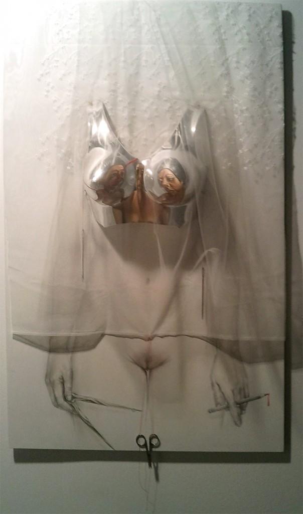 αιδοίο ψαλίδι, art athina 2015